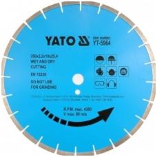 Deimantinis pjovimo diskas akmeniui 400x25.4mm
