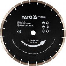 Deimantinis segmentinis pjovimo diskas 350x25,4 mm