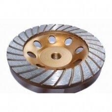 Deimantinis šlifavimo diskas betonui 125X5XM14 TURBO