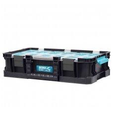 Dėžė įrankiams 9 dėžutės DEDRA SAS+ALL