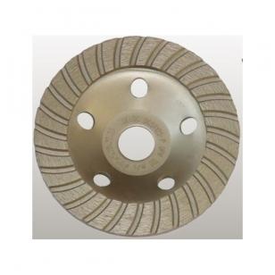 Deimantinis šlifavimo diskas - lėkštė 125mm, TURBO