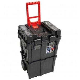 Dėžė įrankiams su ratukais