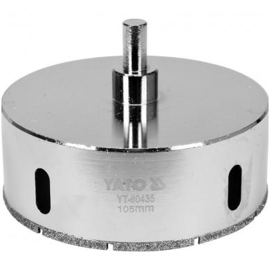 Deimantinė karūna keramikai Ø 105mm 2