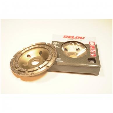 Deimantinis šlifavimo diskas - lėkštė 125mm Double Row 2