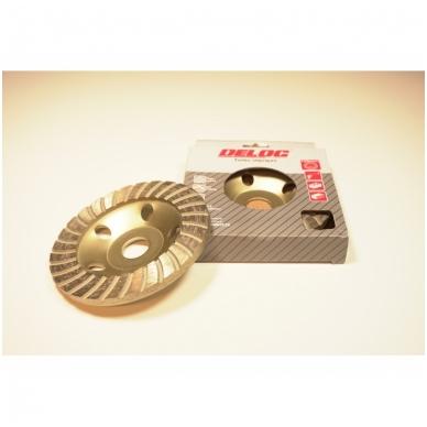 Deimantinis šlifavimo diskas - lėkštė 125mm, TURBO 3