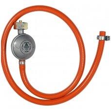 Dujų reduktorius / reguliatorius su žarna 1 m