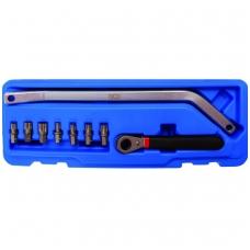 Durų vyrių montavimo įrankių rinkinys
