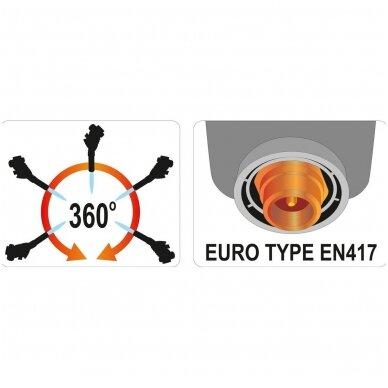 Dujinė lempa  su pjezo uždegimu  360° 3