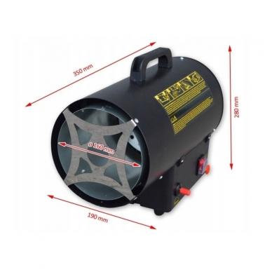 Dujinis šildytuvas 15 kW, Tecweld 3