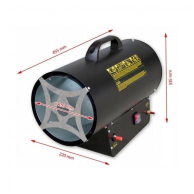 Dujinis šildytuvas 30kW su reguliacija, Tecweld 3