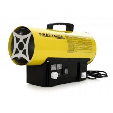 Dujinis šildytuvas 40kW su termostatu Kraft&dele