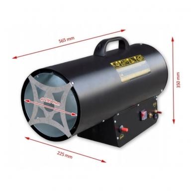 Dujinis šildytuvas 50kW su reguliacija, Tecweld 3