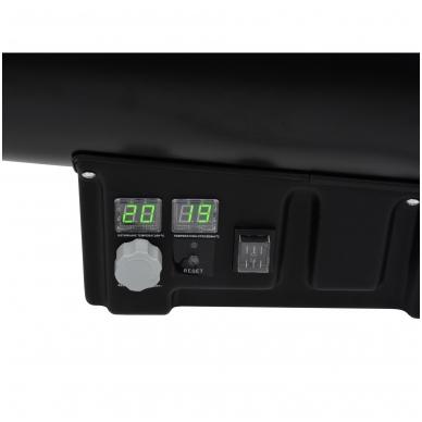 Dujinis šildytuvas 65kW su termostatu 5