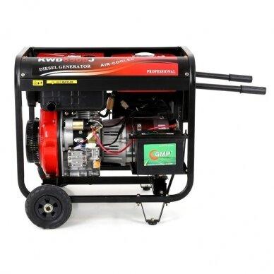 Dyzelinis generatorius 6500W 12/230V AVR 3