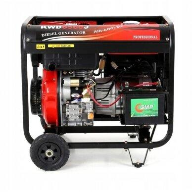Dyzelinis generatorius 6500W 12/230V AVR 4
