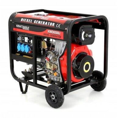 Dyzelinis generatorius 6500W 12/230V AVR 2