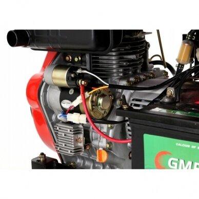 Dyzelinis generatorius 6500W 12/230V AVR 6
