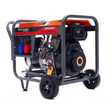Dyzelinis generatorius 8KW AVR 230/400V 2