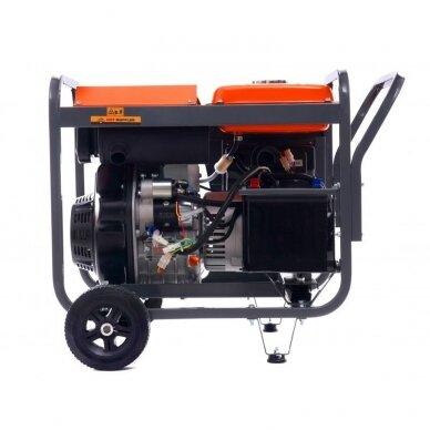 Dyzelinis generatorius 8KW AVR 230/400V 5