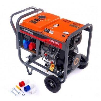Dyzelinis generatorius 8KW AVR 230/400V 6