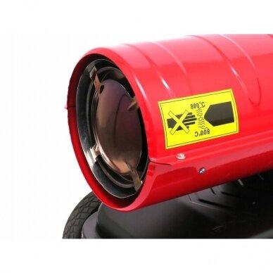 Dyzelinis oro šildytuvas 35kW Kraft&Dele 5
