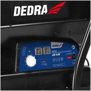 Dyzelinis oro šildytuvas 40kW Dedra 2