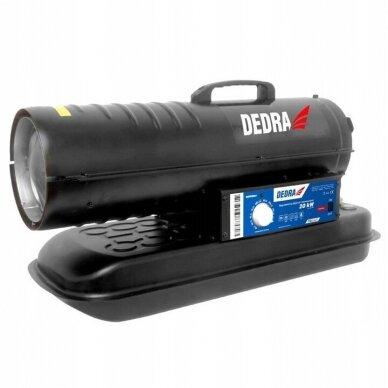 Dyzelinis šildytuvas 20kW su termostatu DEDRA 2