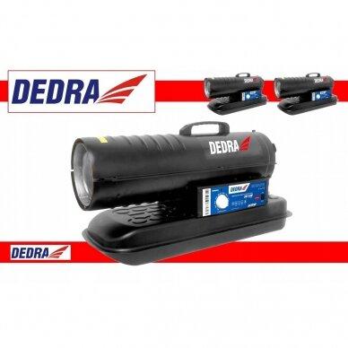 Dyzelinis šildytuvas 20kW su termostatu DEDRA
