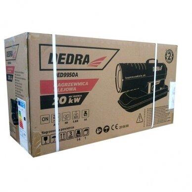 Dyzelinis šildytuvas 20kW su termostatu DEDRA 3