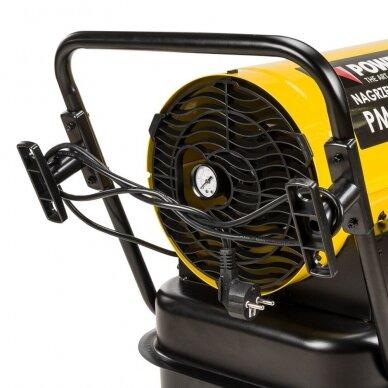 Dyzelinis šildytuvas netiesioginio degimo 30kW Powermat PM-NAG-30SK 11