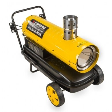 Dyzelinis šildytuvas netiesioginio degimo 30kW Powermat PM-NAG-30SK 2