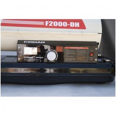 Dyzelinis šildytuvas su termostatu 20,3 kW Firman 4