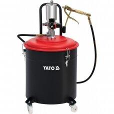 Efektyvus pneumatinis tepimo įrenginys 30l YATO YT-07068