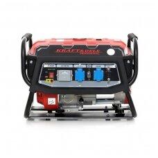 Elektros generatorius benzininis 12V/230V 3000W KraftDele