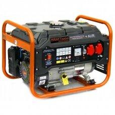 Elektros generatorius benzininis 12V/230V 3500W KraftDele
