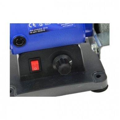 Elektrinis galąstuvas-šlifuoklis su graveriu (lankstus daugiafunkcinis velenas 75x10x20mm) 5