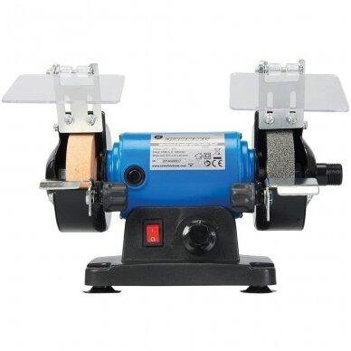 Elektrinis galąstuvas-šlifuoklis su graveriu (lankstus daugiafunkcinis velenas 75x10x20mm) 2