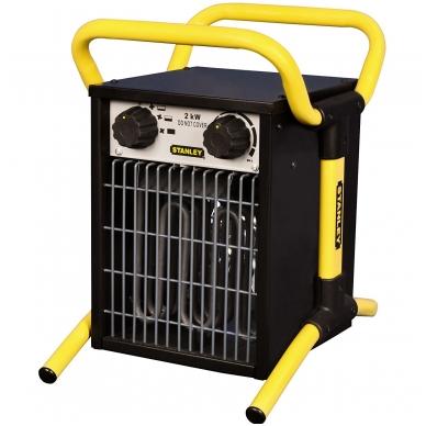 Elektrinis šildytuvas 0,65-2kW STANLEY