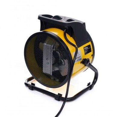Elektrinis šildytuvas 3,5kW Keramikinis KraftDele KD11728 6