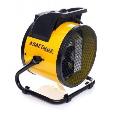 Elektrinis šildytuvas 3,5kW Keramikinis KraftDele KD11728 8