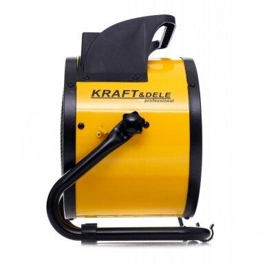 Elektrinis šildytuvas 2,5kW Keramikinis KraftDele KD11727 9