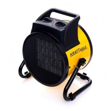 Elektrinis šildytuvas 2,5kW Keramikinis KraftDele KD11727 2
