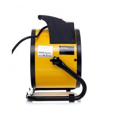 Elektrinis šildytuvas 2,5kW Keramikinis KraftDele KD11727 10