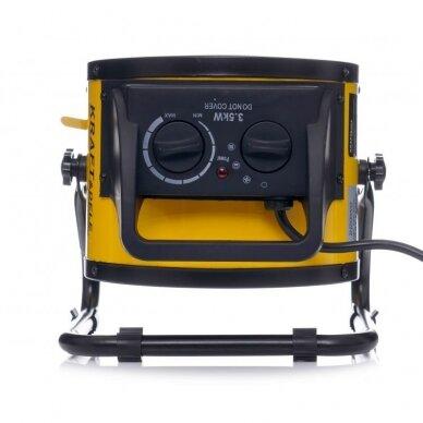 Elektrinis šildytuvas 3,5kW Keramikinis KraftDele KD11728 11