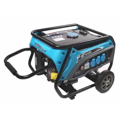 Elektros generatorius AVR 3000W/3500W 2