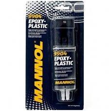 Epoksidiniai klijai plastikui MANNOL 30g