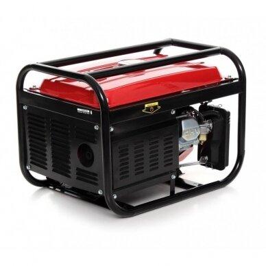 Generatorius benzininis keturtaktis 2500W, Kraftdele 4