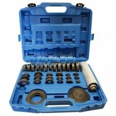 Guolių presavimo, dreifo rinkinys (nailonas) 36vnt. Essen Tools