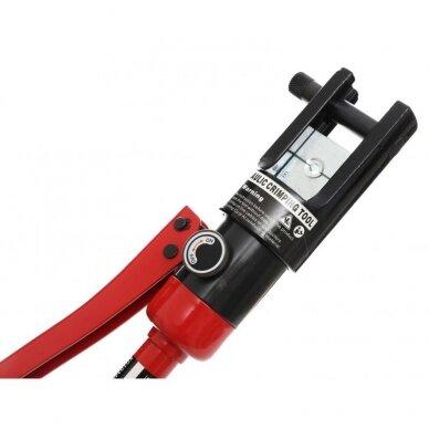 Hidraulinis kraštų užspaudimo įrankis 10-300mm² 18t 5