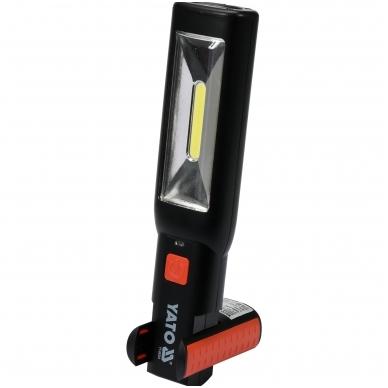 Įkraunama darbo lempa COB LED 3W 4